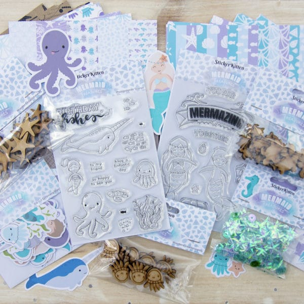 Mermaid Treasures Complete Collection Craft Box