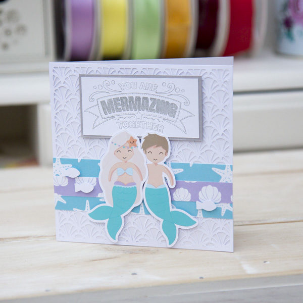 Mermaid Treasures mermazing card