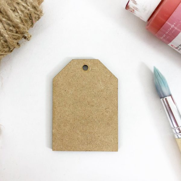 Small MDF tag